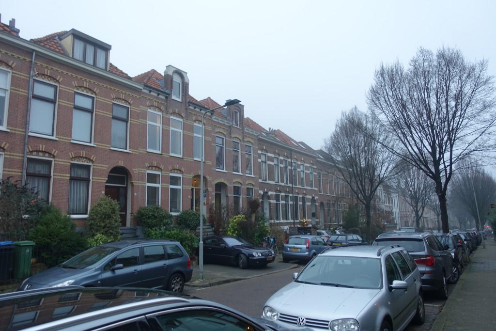 Arnhem, die Straße Sint Antonielaan