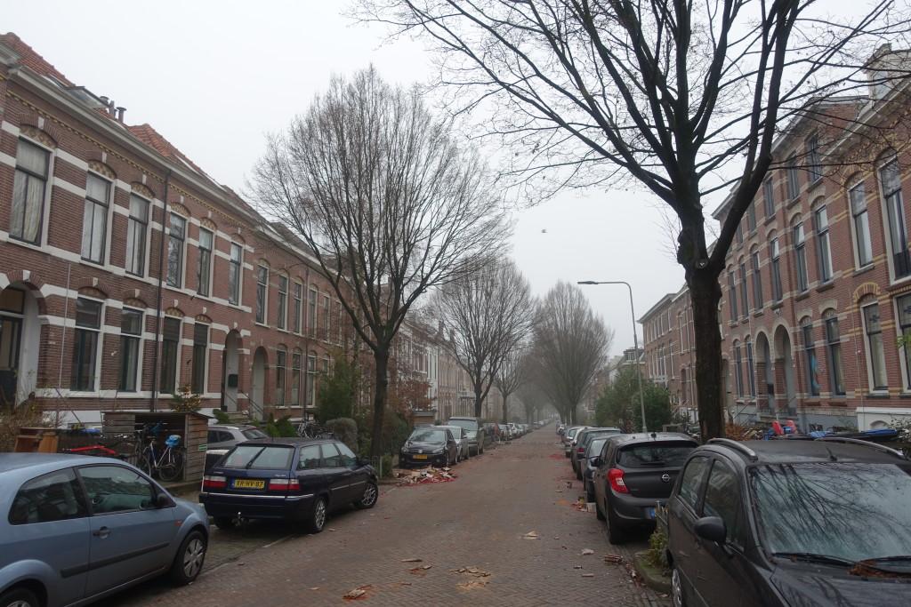 Sint Antonielaan am nächsten Morgen