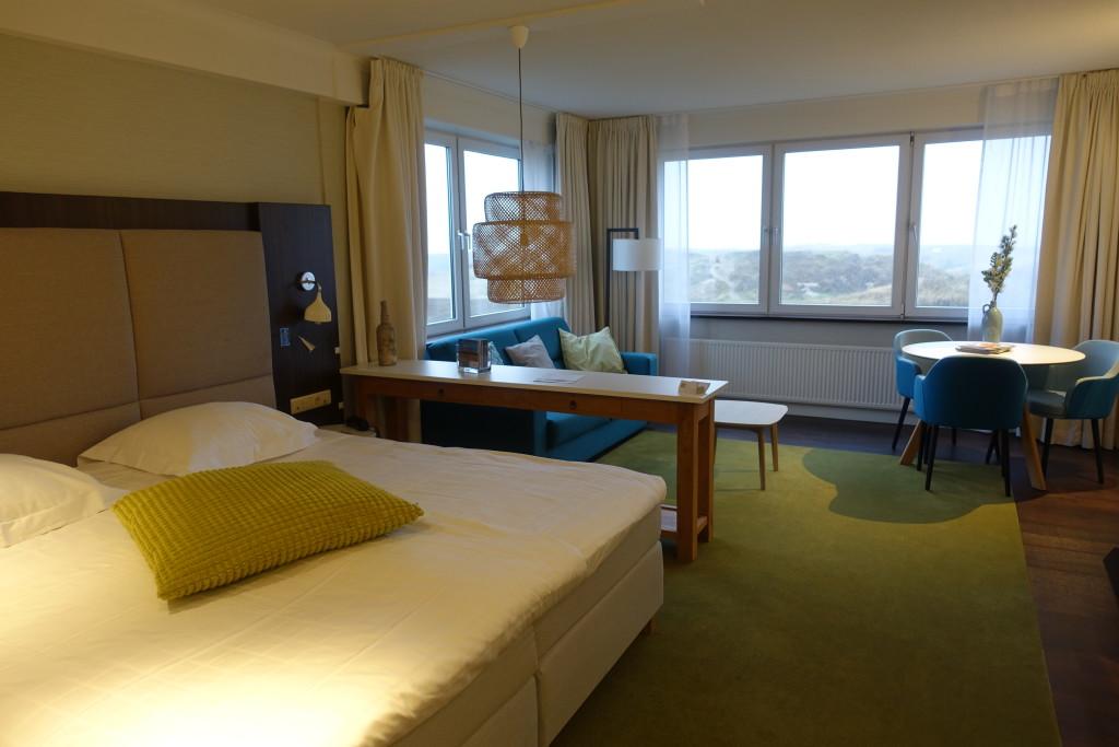 Unsere Suite im Grandhotel Opduin