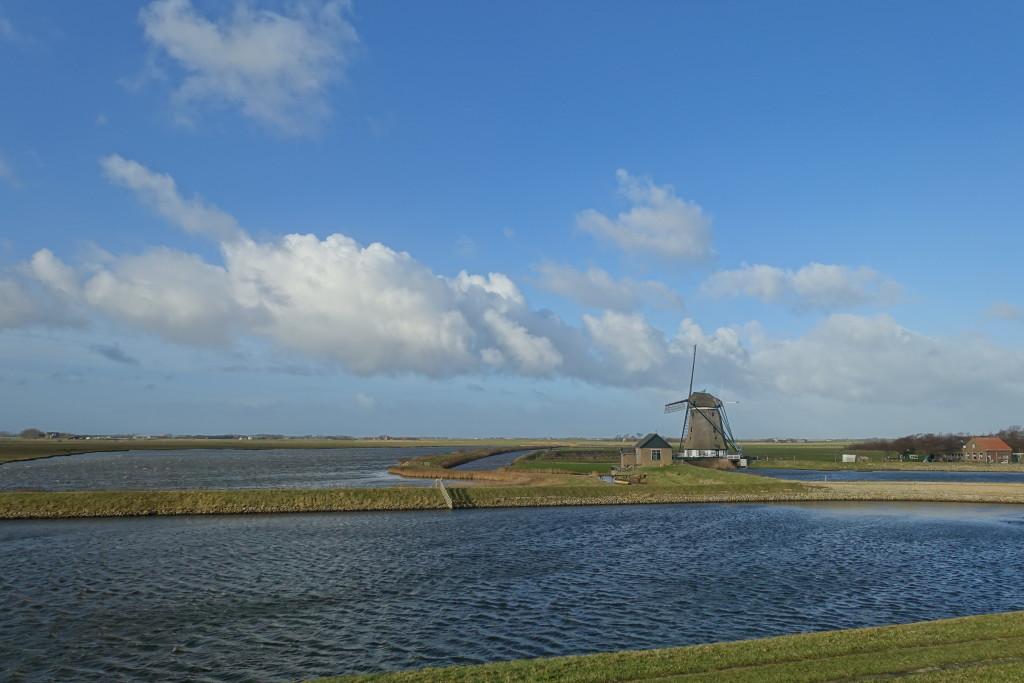 Texel - flach und auch im Inselinneren voller Wasser