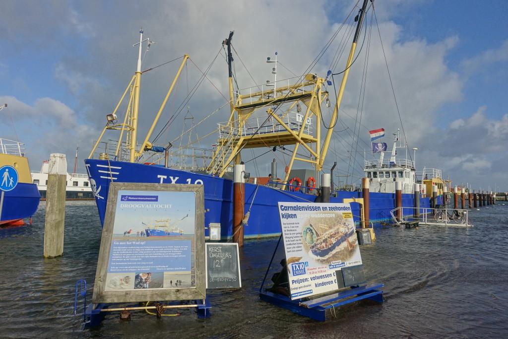 Der Hafen von Oudeschild