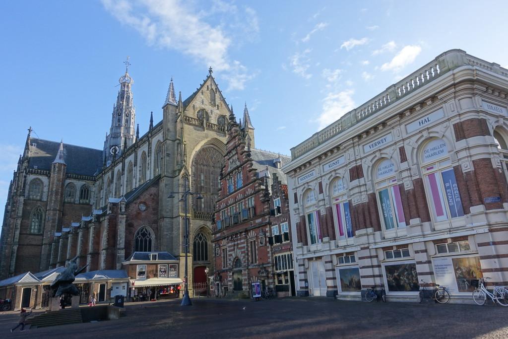 """Haarlem - """"Große Kirche"""" am """"Großen Markt"""""""