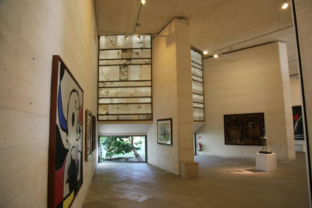 Fundació Miró - in einem der Ausstellungsräume