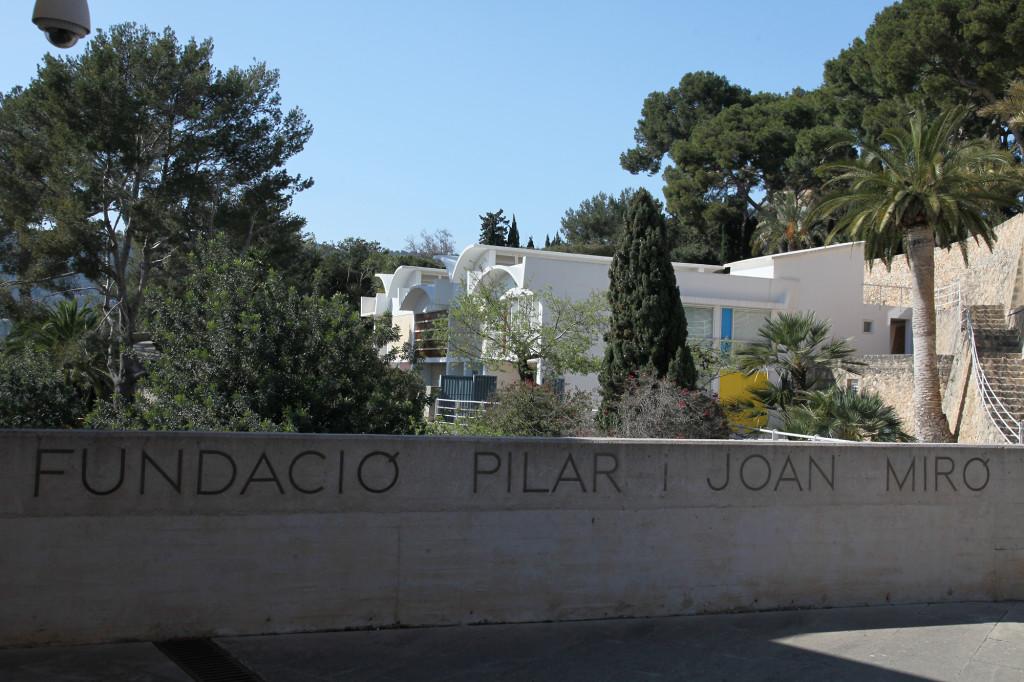 Fundació Miró - Eingangsbereich