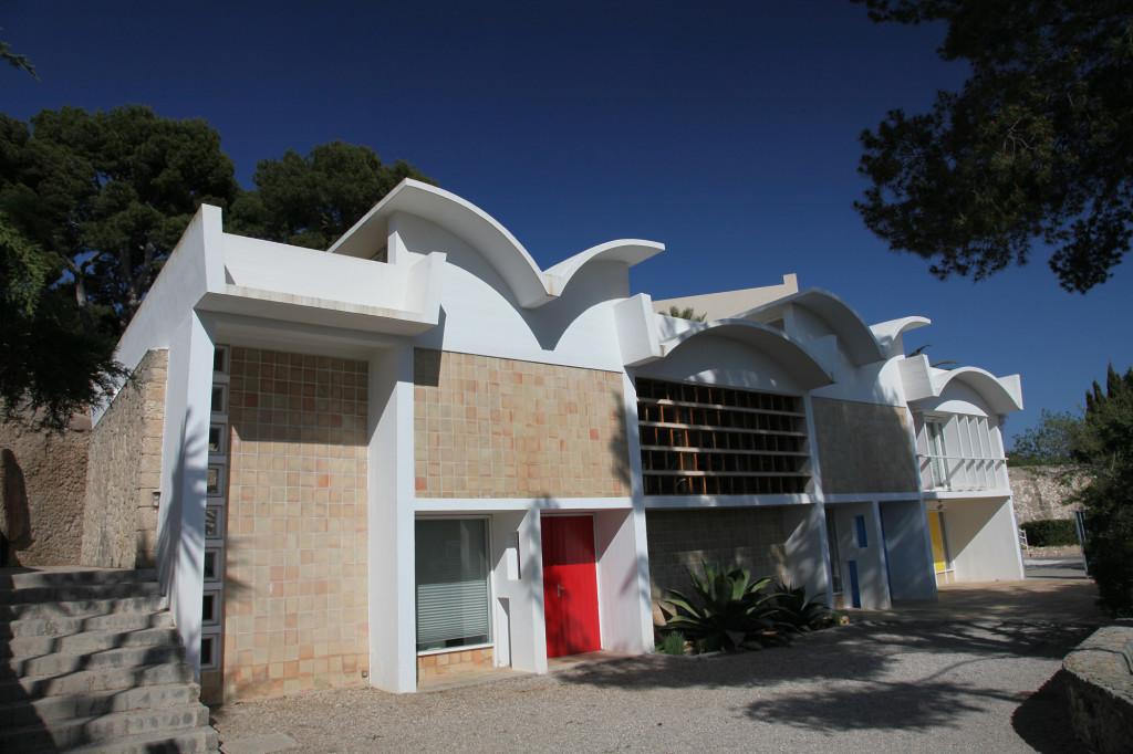 Fundació Miró - das von Sert gestaltete Atelier