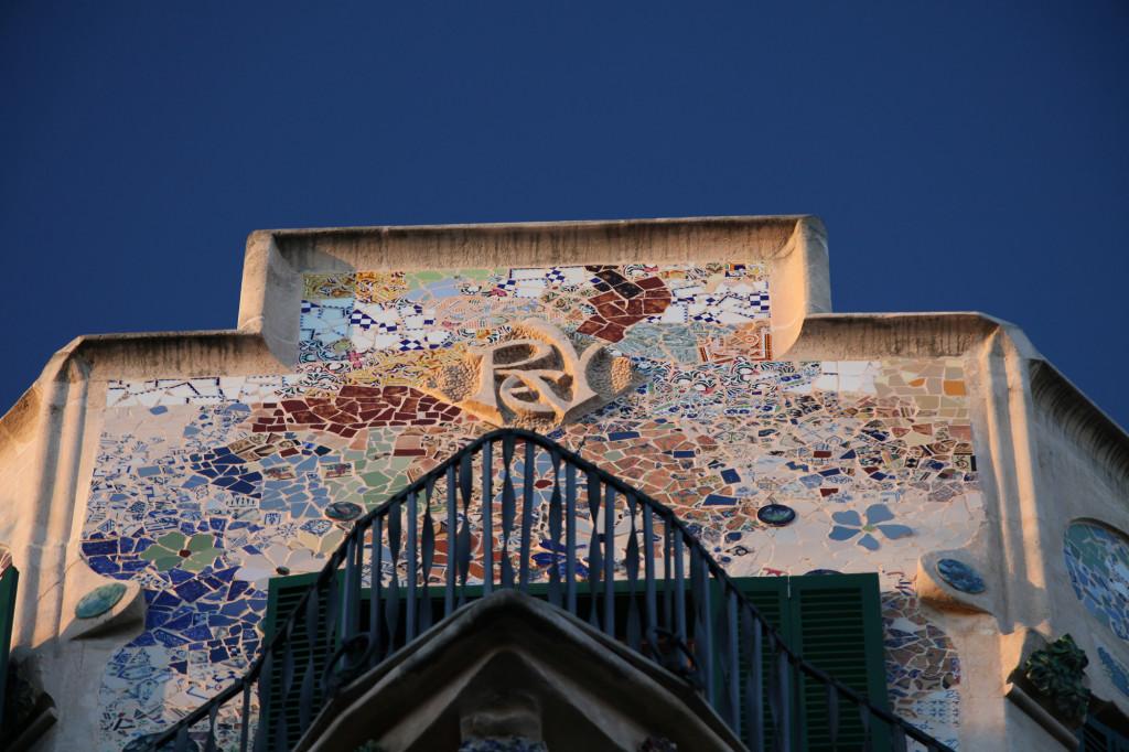 """Beispiel für Modernisme-Architektur - das Gebäude """"Can Rei"""""""