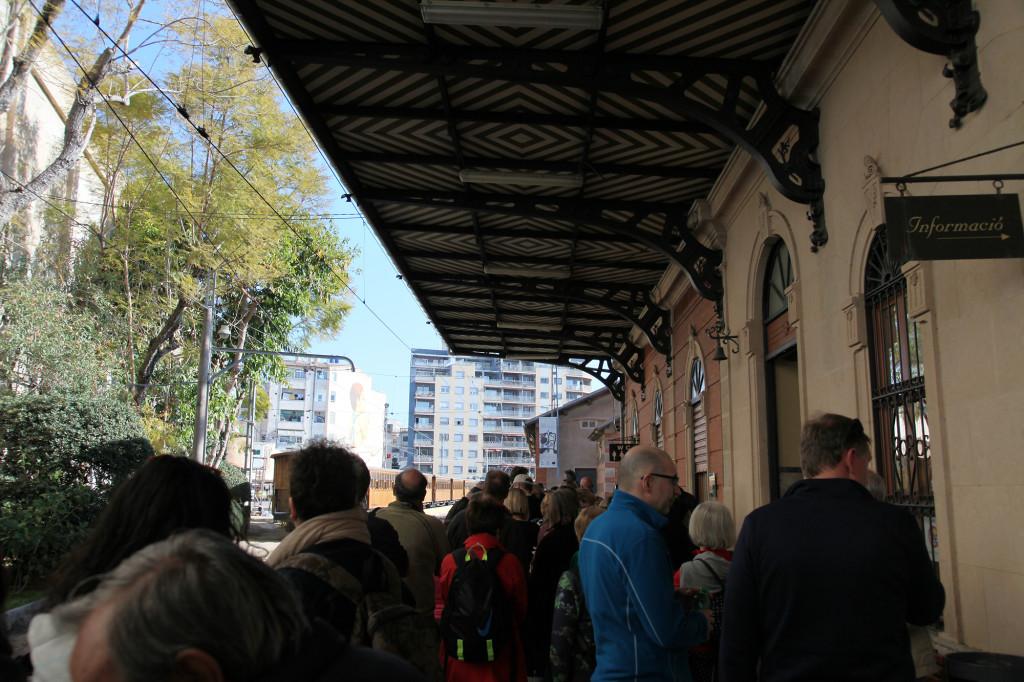 "Palma - der Bahnhof des ""Roten Blitzes"""