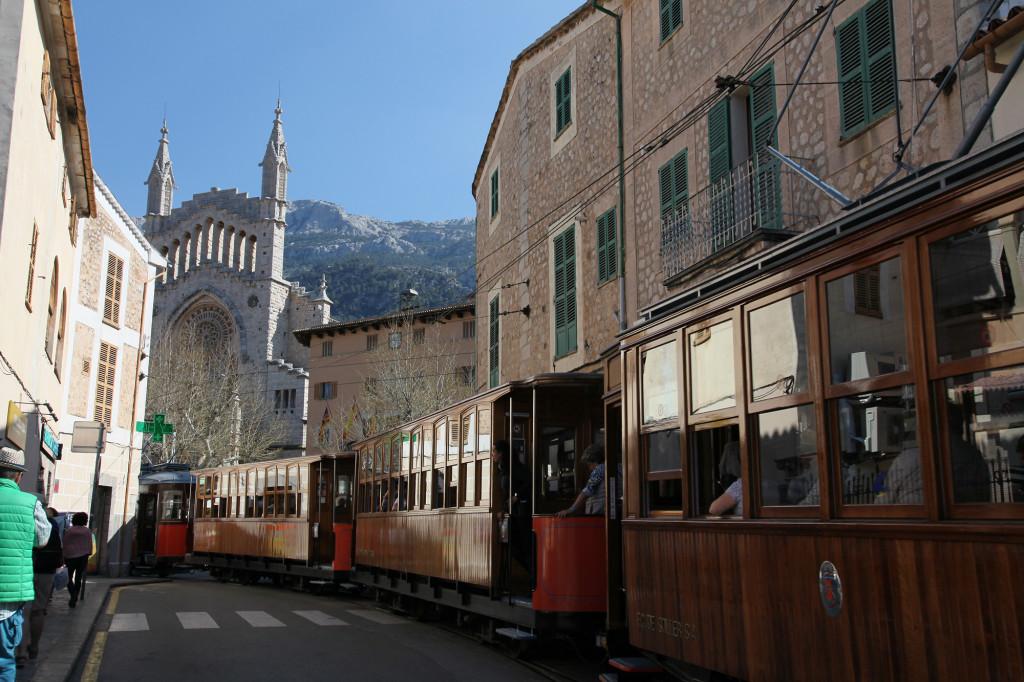 Die Tram in Sóller