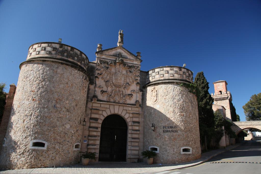 Poble Espanyol - Porta de Bisagra
