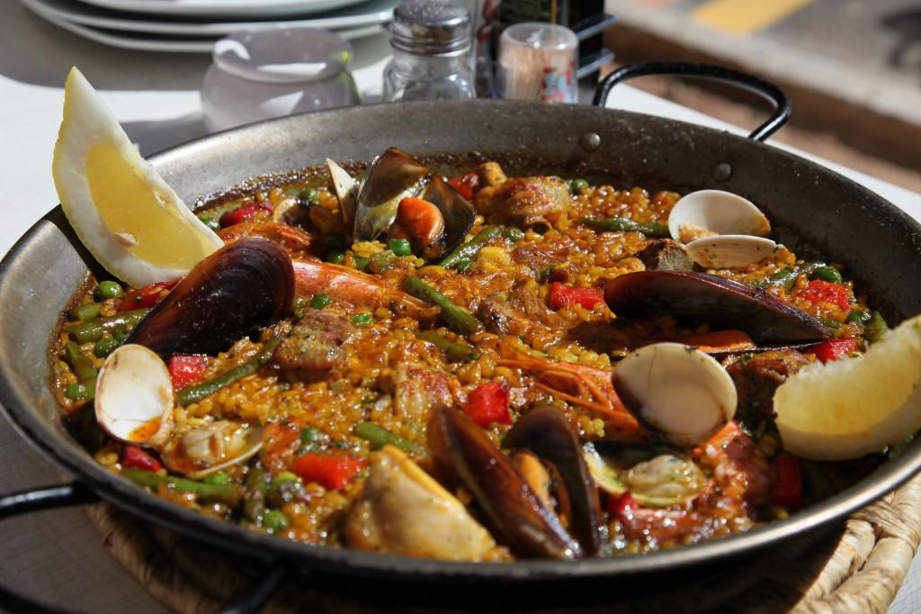 Der überragende Sieger der Paella-Olympiade ist das Restaurant Pòrtic