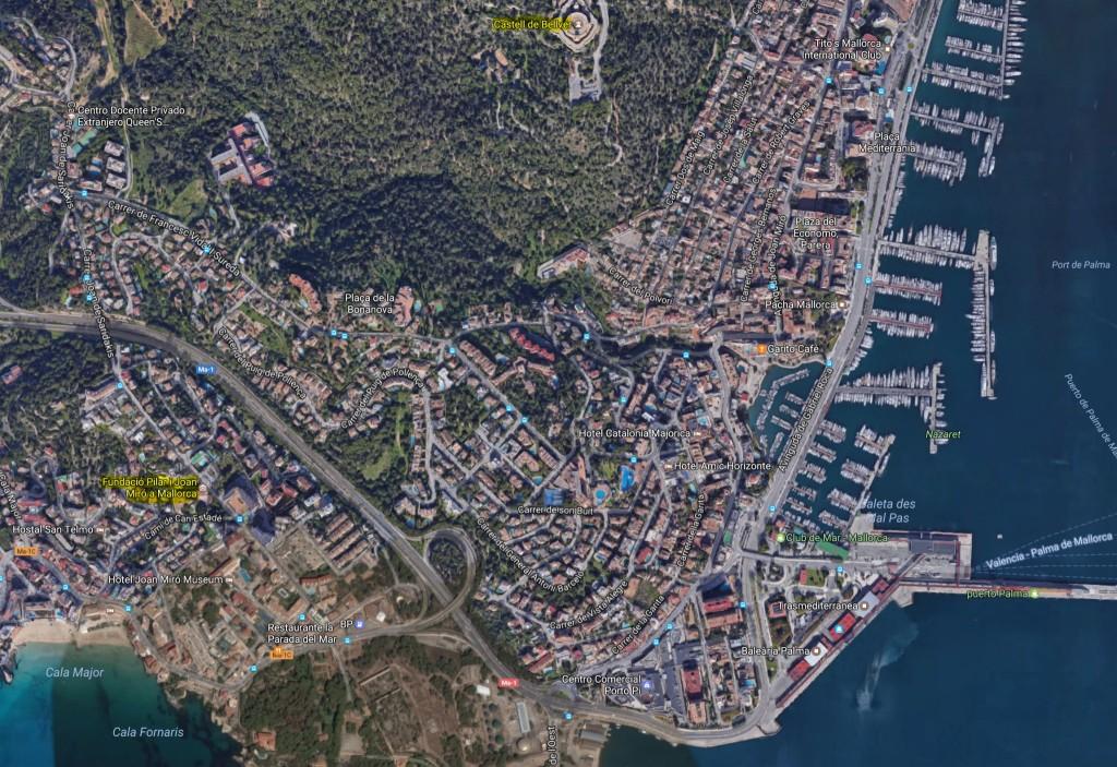 Castell de Bellver - Miró-Stiftung [Quelle: google.maps]