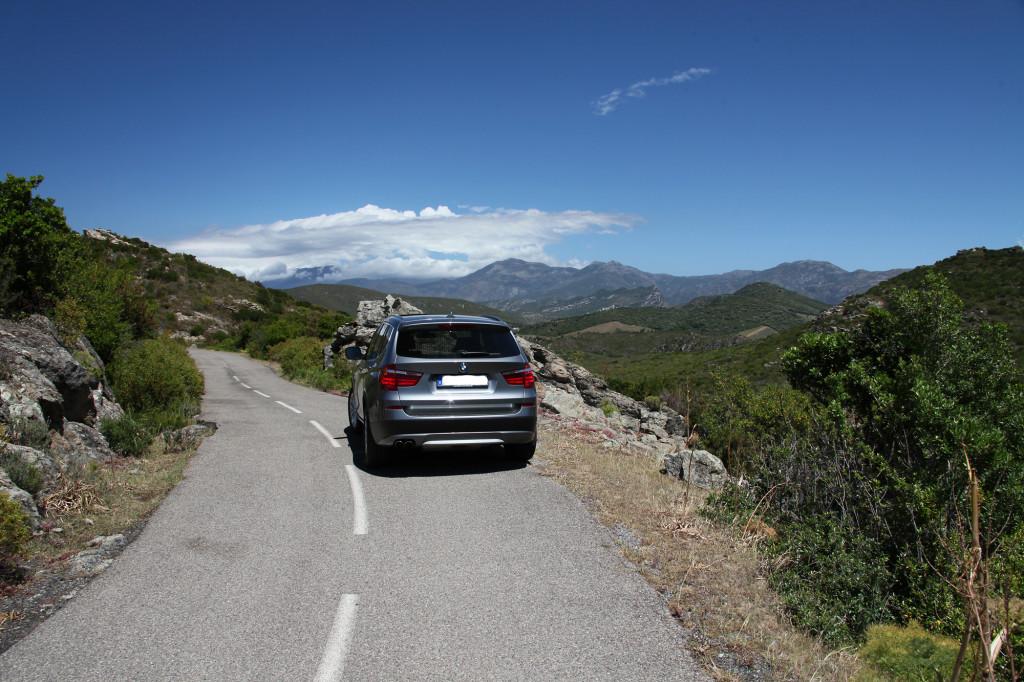 IMG_6272 Korsika 17 - Ausflug Nebbio - BMW X3
