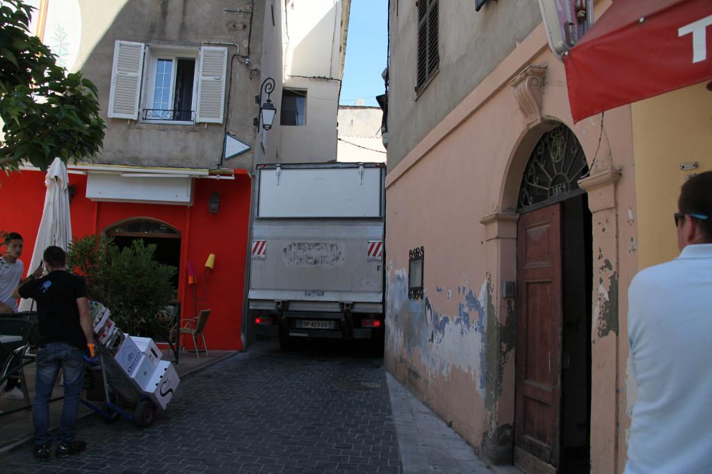 Saint Florent - Millimeterarbeit