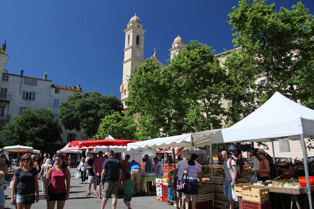 Bastia - Markt