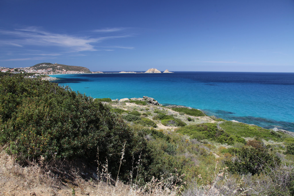 Auf dem Weg nach Calvi - Blick auf Ile Rousse