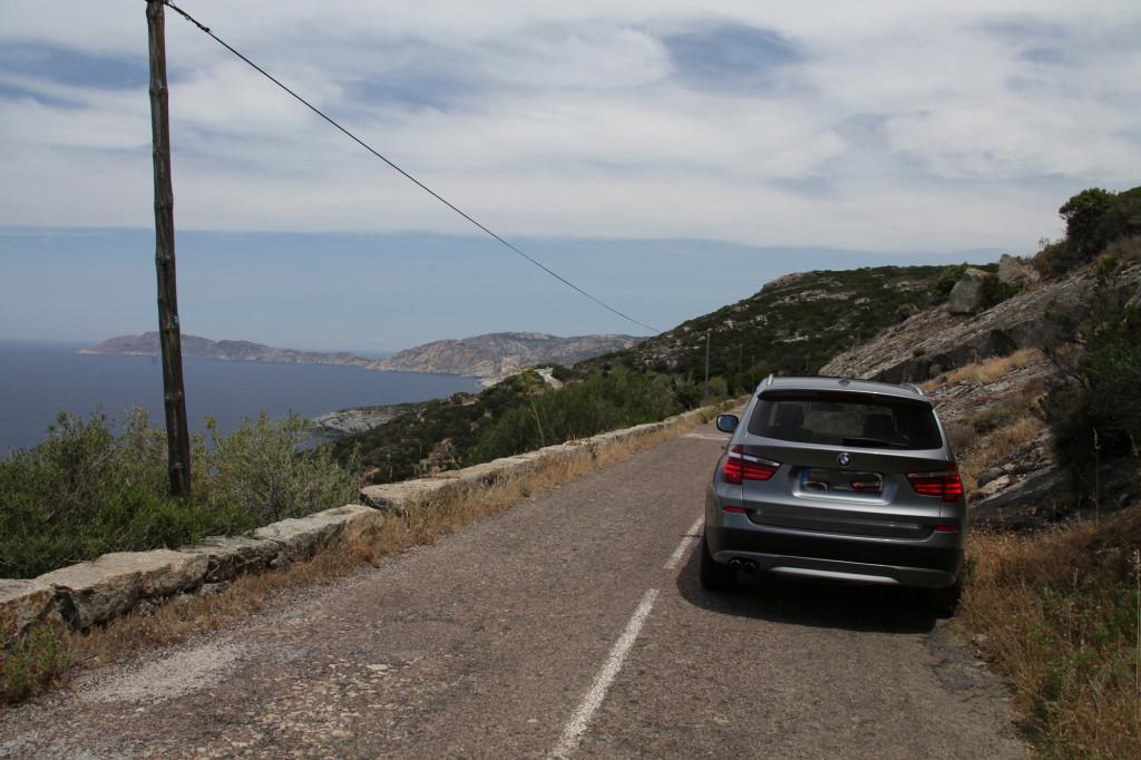 IMG_7945 Korsika 17 - zw. Galéria und Calvi - BMW X3