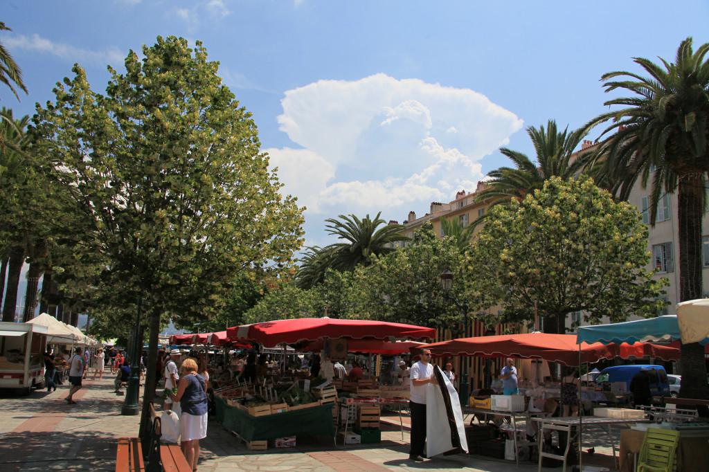 Ajaccio - Markt
