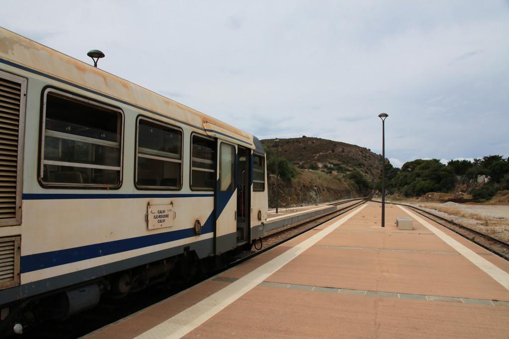 Ile Rousse - Bahnhof