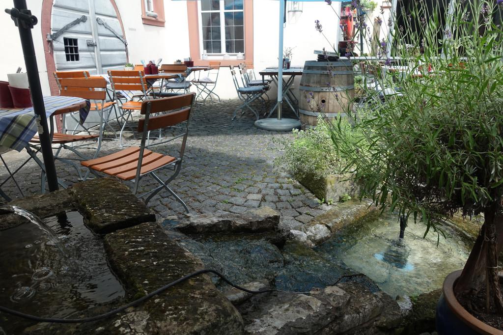 """Im Restaurant """"Zum Schwan"""" in Sommerach"""