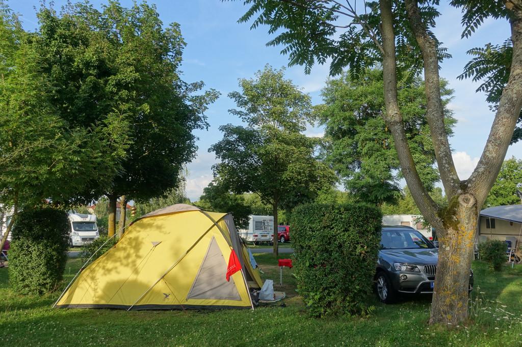 DSC01383 Sommerach - Würzburg - Camping Katzenkopf