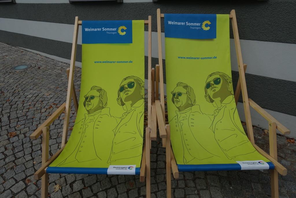 Goethe und Schiller - aber sowas von cool :-)