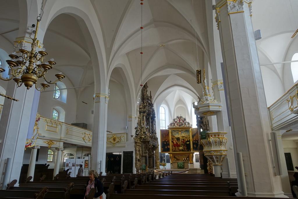 Herderkirche mit dem Altargemälde von Lucas Cranach dem Älteren