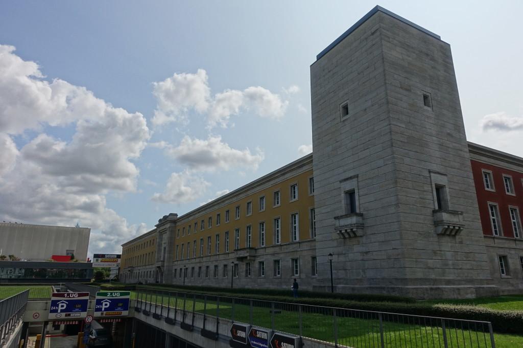 Weimarplatz - Teil des ehemaligen Gauforums