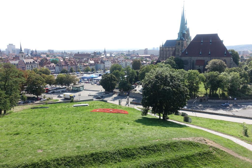 Zitadelle Petersberg - Blick in Richtung Domplatz