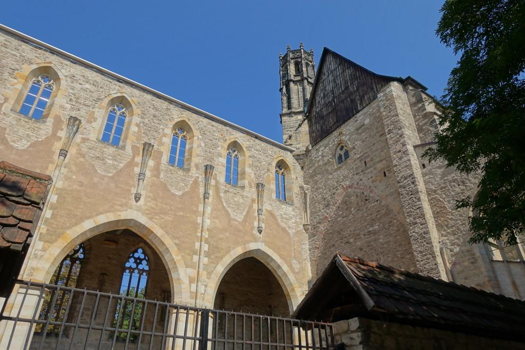 Ruine der Barfüßerkirche