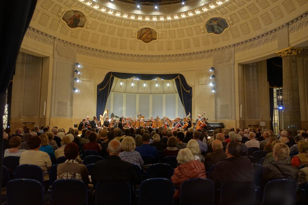 In der Konzertrotunde mit der Bad Reichenhaller Philharmonie