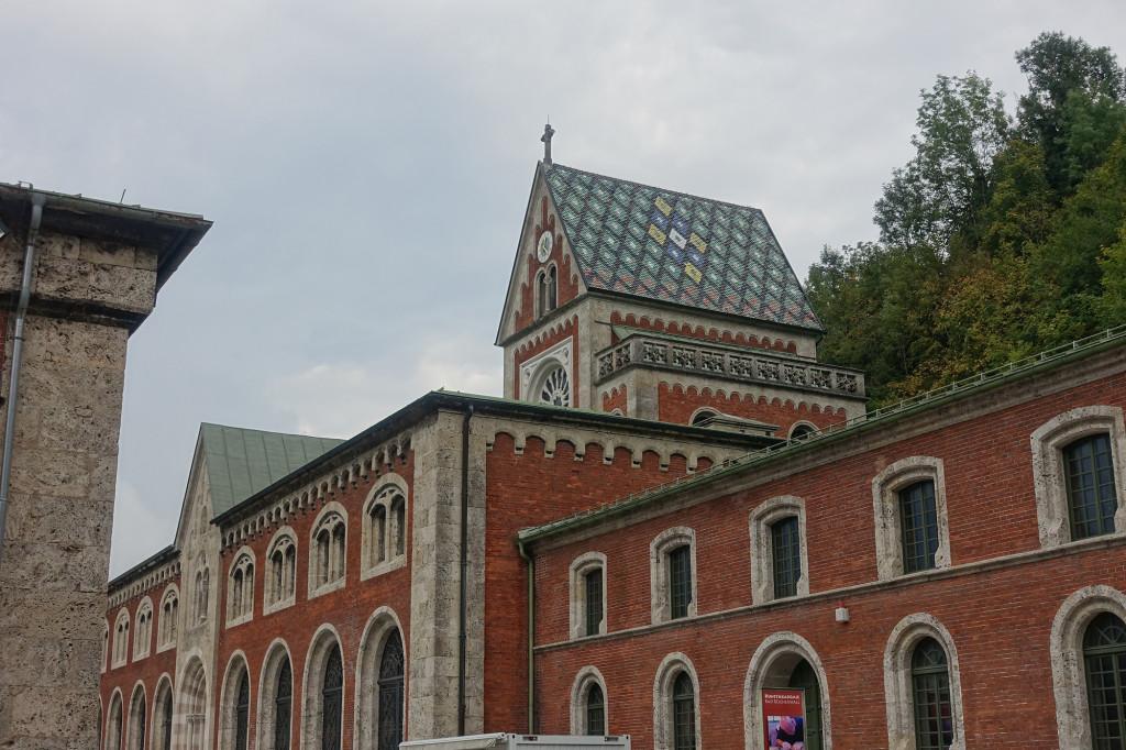 Alte Saline - Hauptbrunnhaus mit Brunnhauskapelle