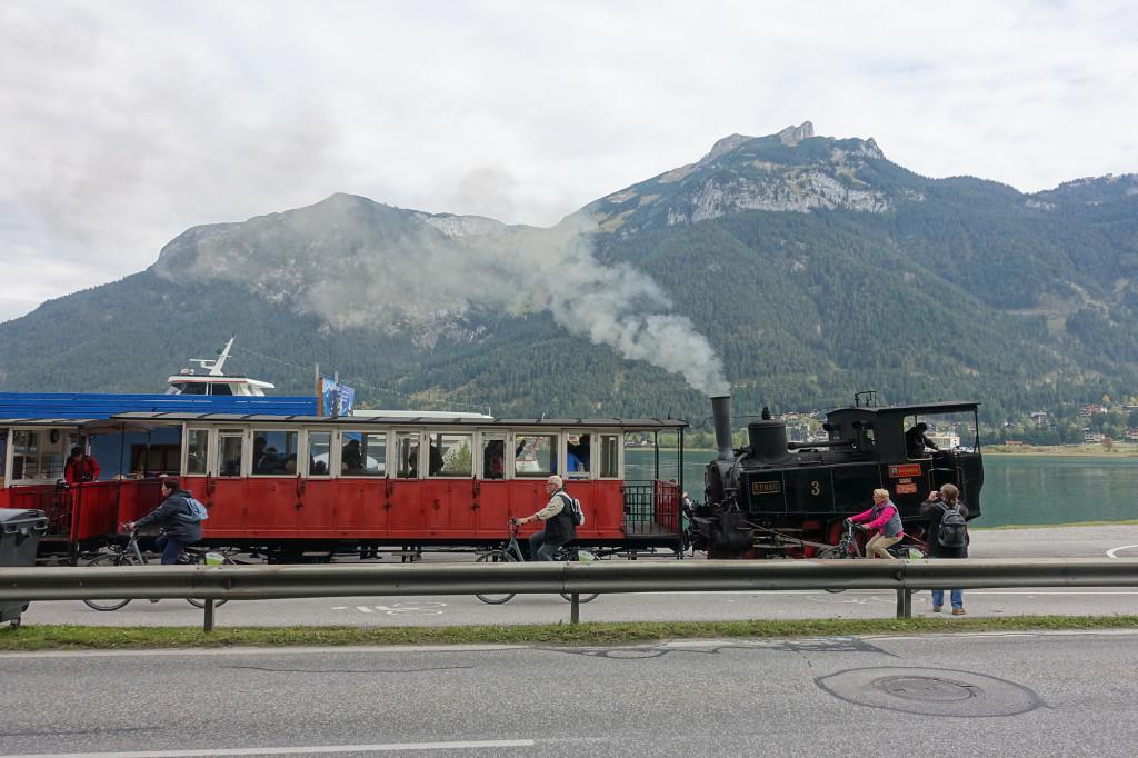 Achensee - Dampfbahn von Maurach nach Seespitz