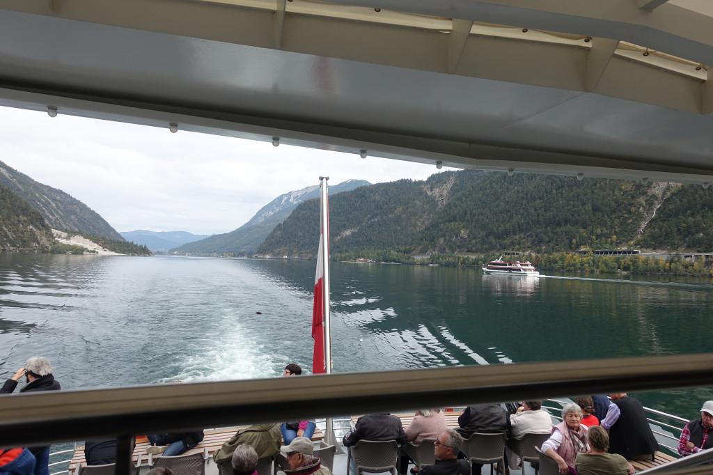 Unterwegs auf dem Achensee