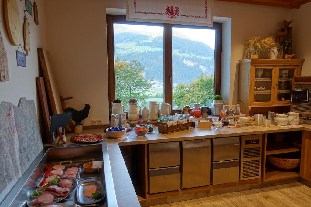 Aktivhotel Eberleiten - Frühstücksbuffet