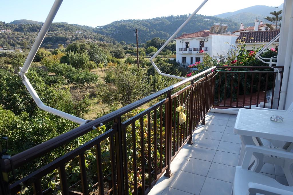 Hotel Golden Sun - Blick von unserem Balkon
