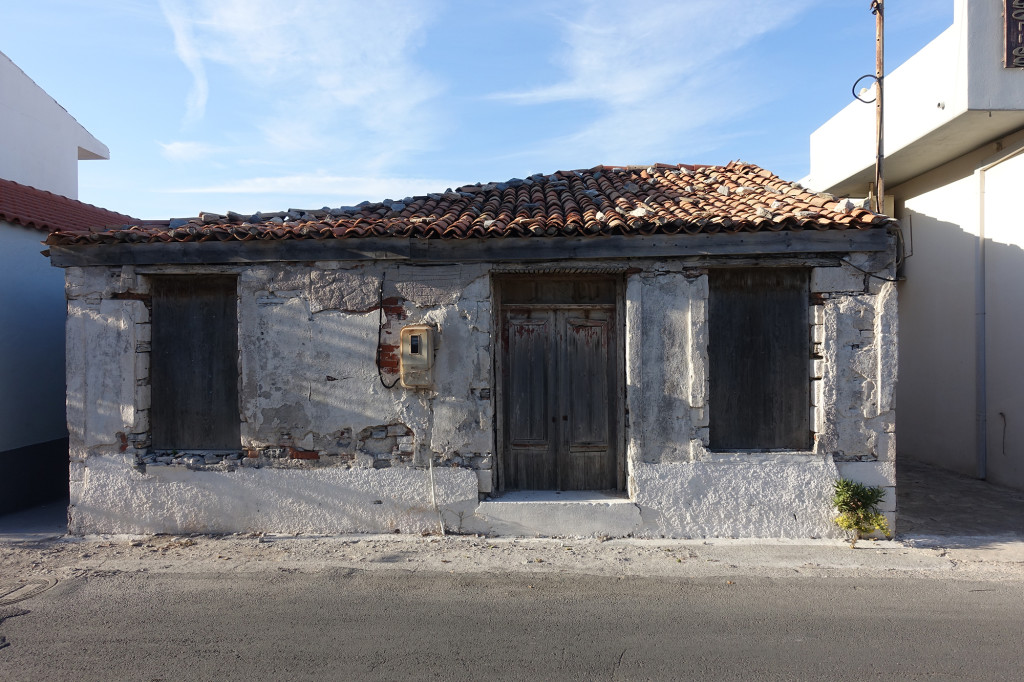 Kokkari - das Haus sah vor 22 Jahren genauso aus