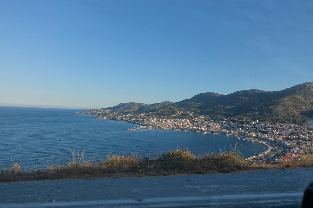 Blick auf Samos-Stadt, den Hauptort der Insel