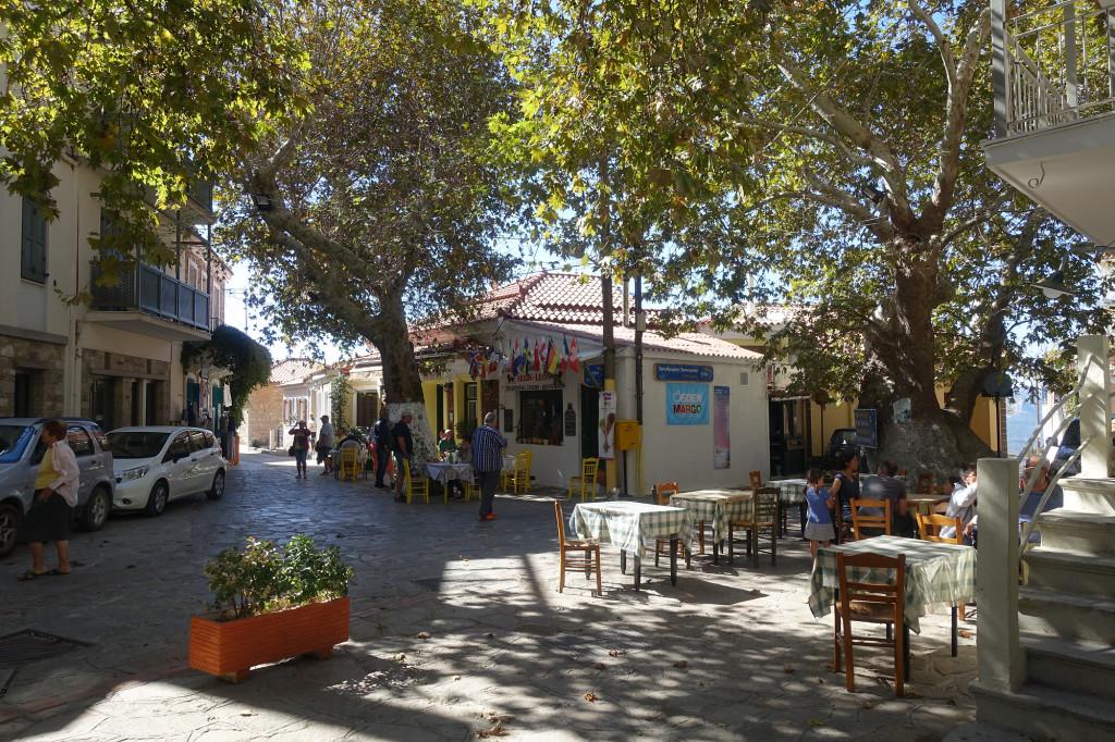 Platanos - Dorfplatz