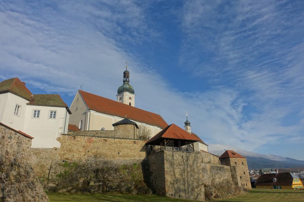 Bad Kötzting - Kirchenburg