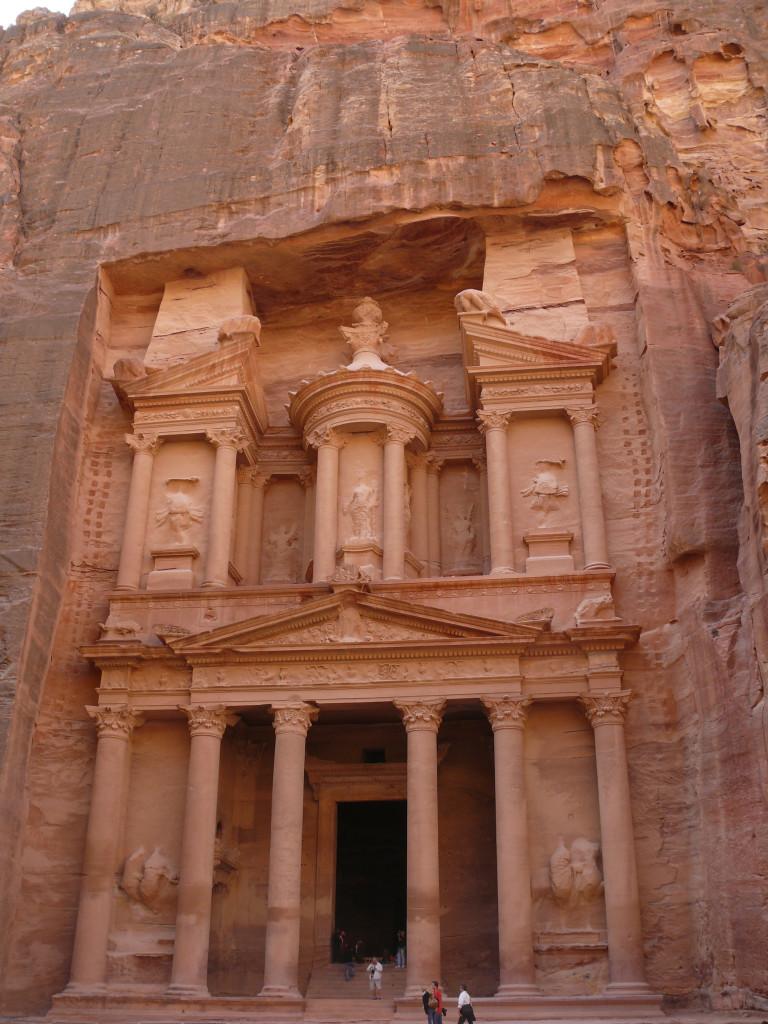 Petra - Khazne al-Firaun, (Schatzhaus des Pharao)