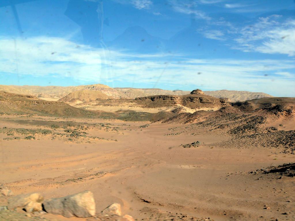 Im Sinai - auf dem Weg zum Katharinenkloster