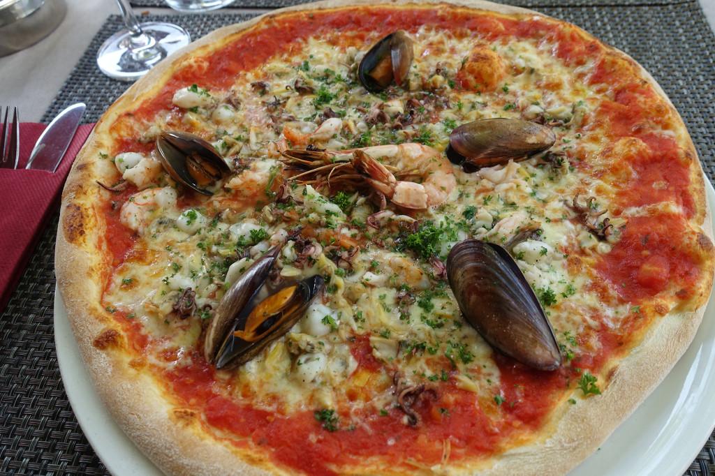 Breisach - Diese Meeresfrüchte-Pizza ist so gut, dass ich am nächsten Tag gleich noch mal eine esse
