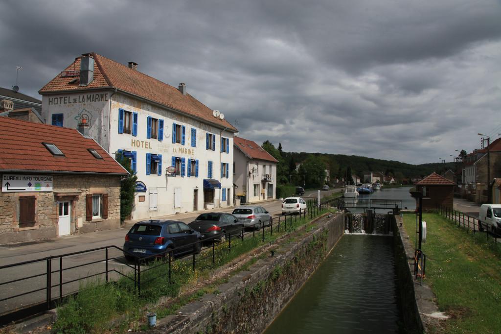 L' Isle-sur-le-Doubs - Rhein-Rhône-Kanal