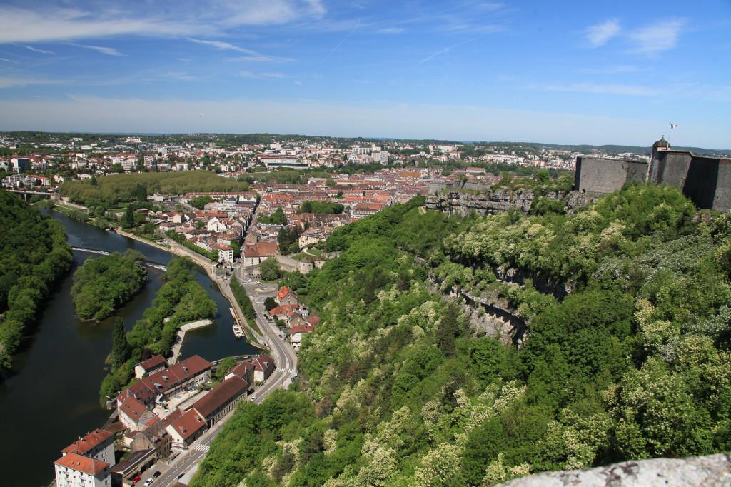 Besançon - Blick von der Zitadelle
