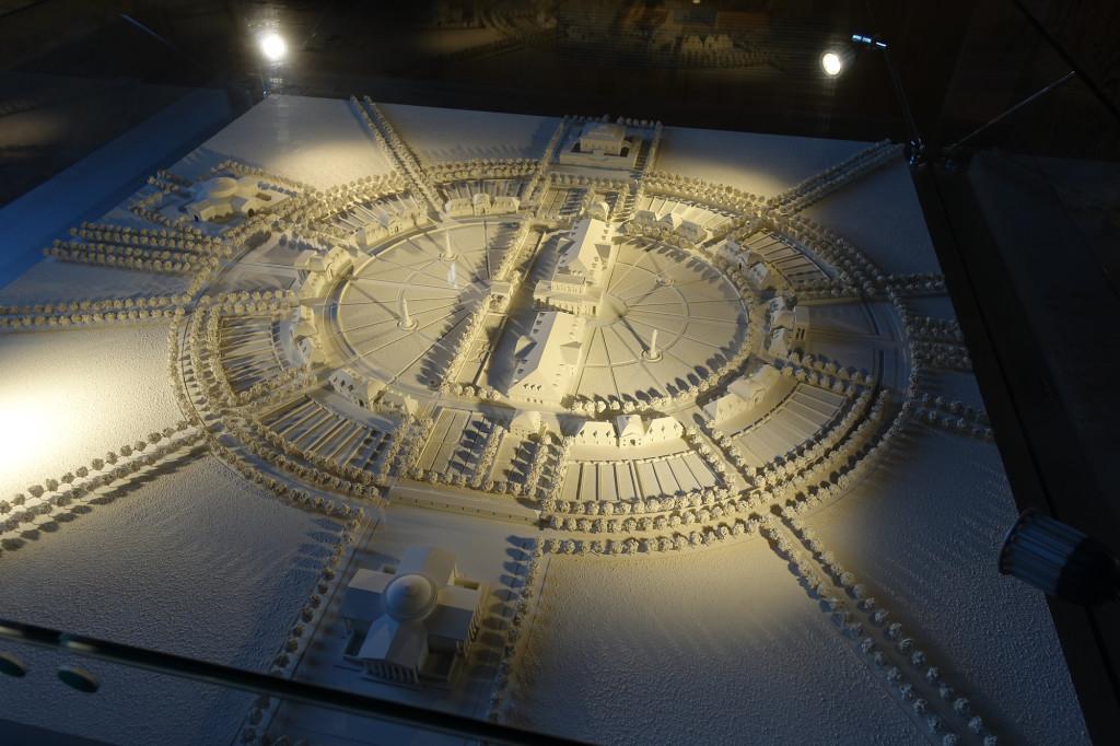 Arc-en-Senans - Saline Royale - so war es geplant