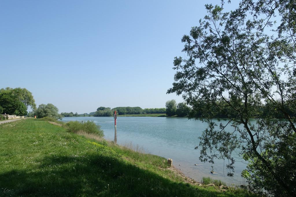 Tournus - die Saône