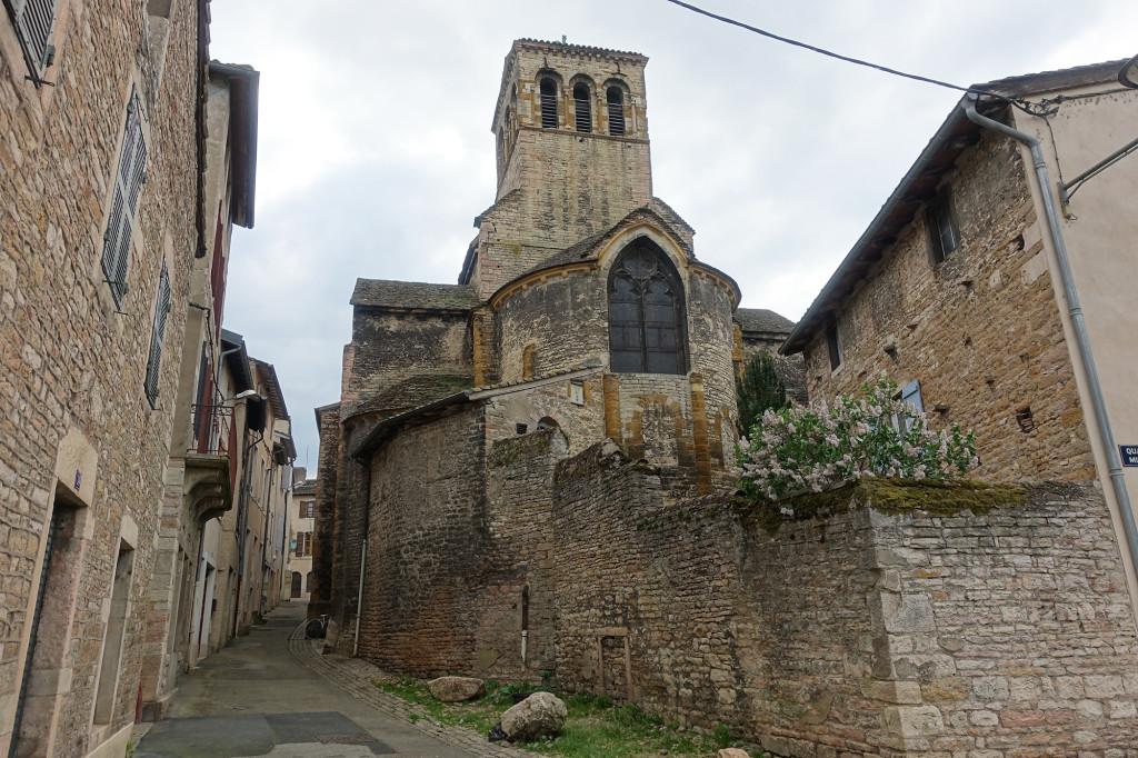 Tournus - die romanische Kirche Sainte-Madeleine