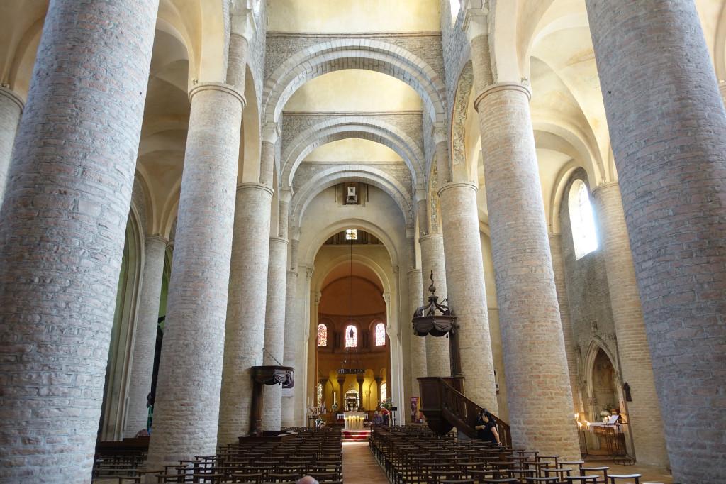 Tournus - die Abteikirche Saint Philibert
