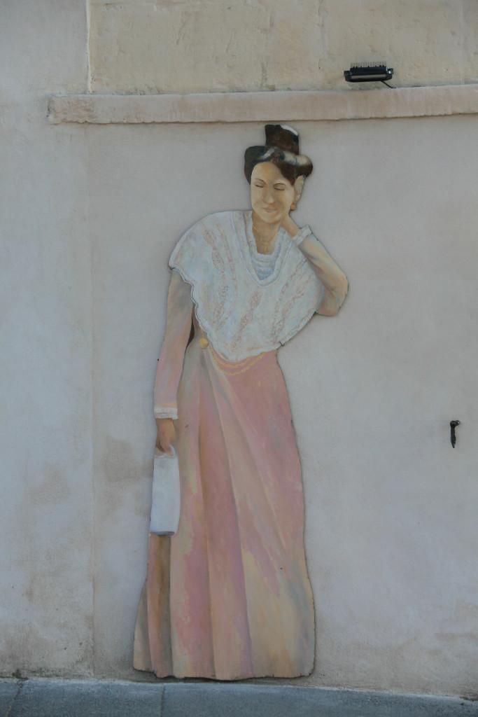 Maussane-les-Alpilles - seine Frau jedoch ist not amused