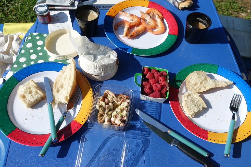 Frühstück de luxe in Maussane